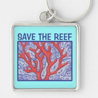 Save the Reef Happy Fish Keychain