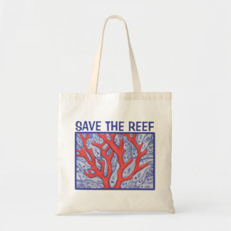 Save the Reef Happy Fish Tote Bag