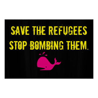 Save The Refugees Poster