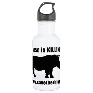 Save the Rhino 18oz Water Bottle