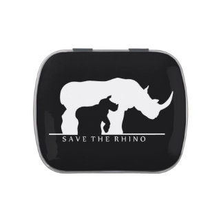 Save The Rhino Candy Tin