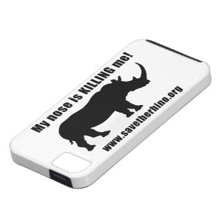 Save the Rhino iPhone 5 Cover