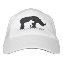 Save The Rhino Headsweats Hat