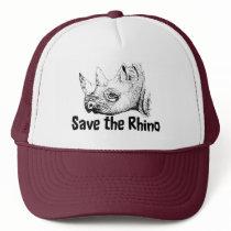 Save the Rhino Safari Cap
