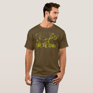 Save the Rhino T shirt