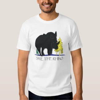 Save the Rhino T-shirts