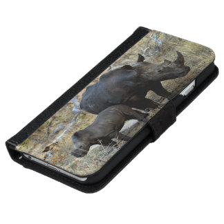 Save The Rhino Wallet Phone Case For iPhone 6/6s
