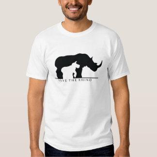 Save The Rhino (white ver.) T-Shirt