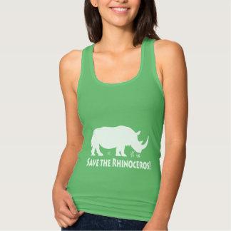 Save the Rhinoceros Tank Top