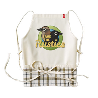 Save the Rusties Zazzle HEART Apron
