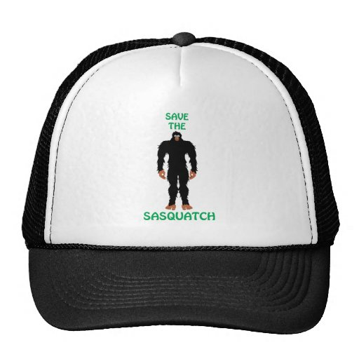 SAVE THE SASQUATCH MESH HAT