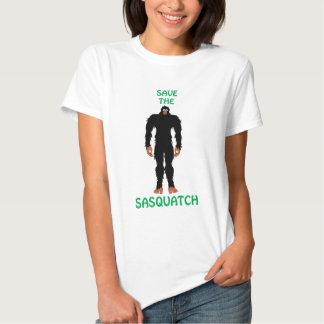 SAVE THE SASQUATCH TSHIRT
