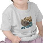 Save The Sea Otters Tee Shirt