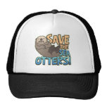 Save The Sea Otters Trucker Hat
