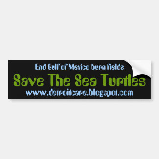 Save The Sea Turtles Bumper Sticker