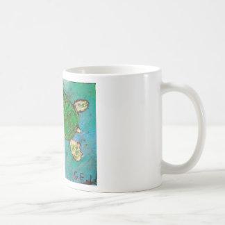 Save The Sea Turtle's Coffee Mugs