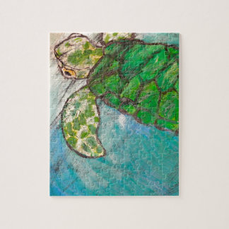 Save The Sea Turtle's Jigsaw Puzzle