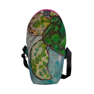 Save The Sea Turtles Courier Bag