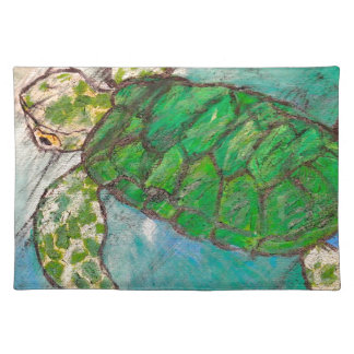 Save The Sea Turtle's Placemat
