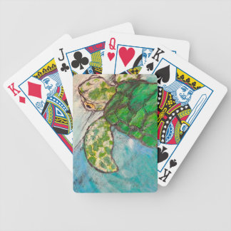Save The Sea Turtle's Bicycle Card Deck