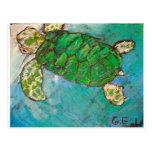 Save The Sea Turtle's Postcard