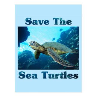 Save the Sea Turtles Postcard