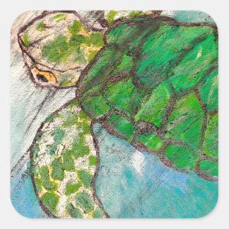 Save The Sea Turtle's Sticker