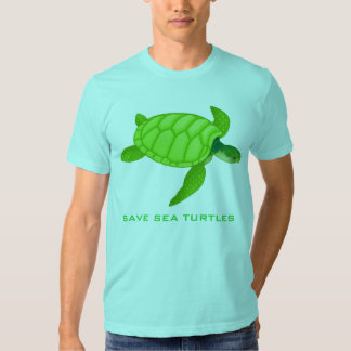 Save the Sea Turtles T Shirt