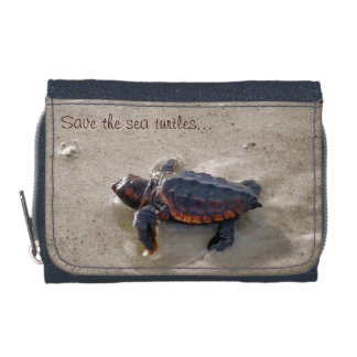 Save the sea turtles! wallets