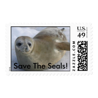 Save The Seals! Stamp