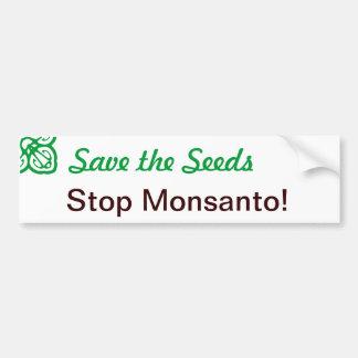 Save the Seeds Bumper Sticker