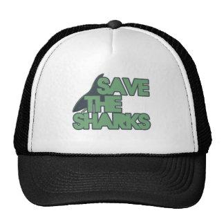 Save the Sharks Trucker Hats