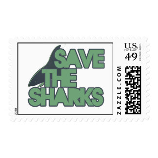 Save the Sharks Postage