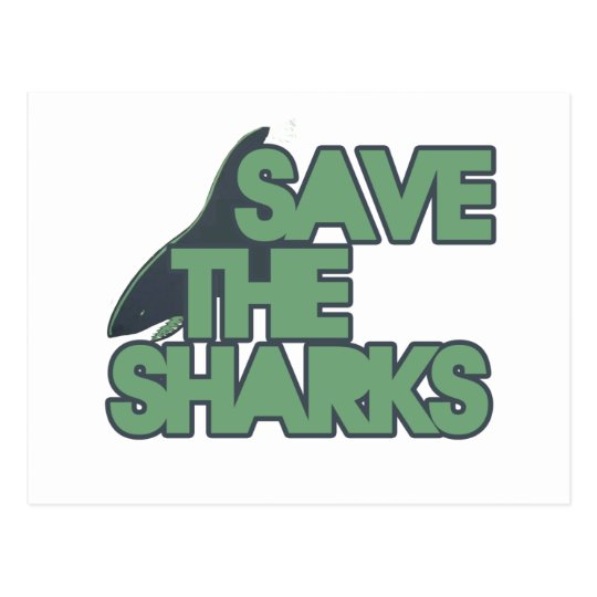 Save the Sharks Postcard