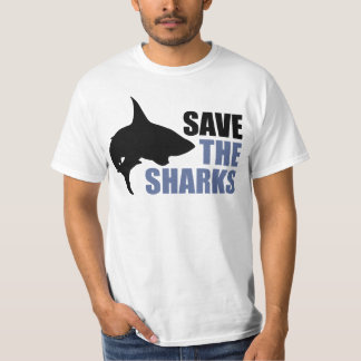 Save The Sharks, Save The Fins activist shirt