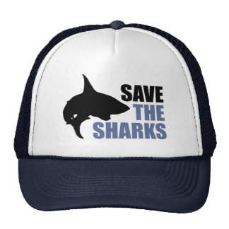 Save The Sharks, Save The Fins Mesh Hats
