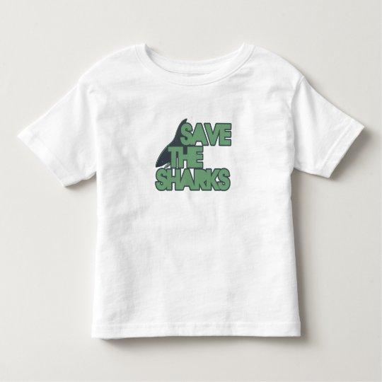 Save the Sharks Toddler T-shirt