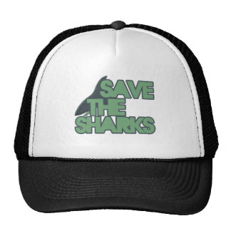 Save the Sharks Trucker Hat