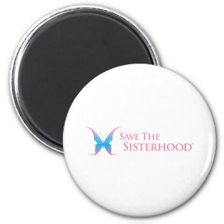 Save The Sisterhood Gear Magnet