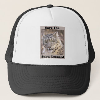 Save the Snow Leopard Trucker Hat