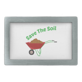 Save The Soil Belt Buckles