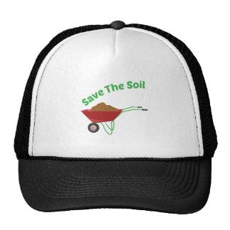 Save The Soil Trucker Hat