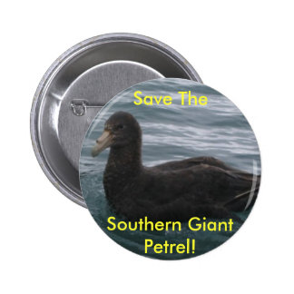 Save The Southern Giant Petrel button