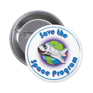 Save the Space Program Pins