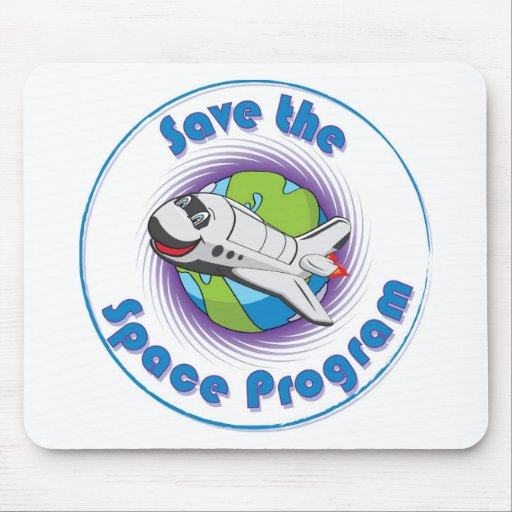 Save the Space Program Mouse Pad