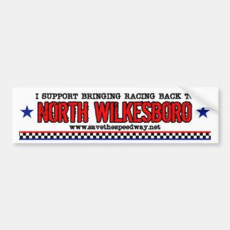 Save The Speedway Bumper Sticker