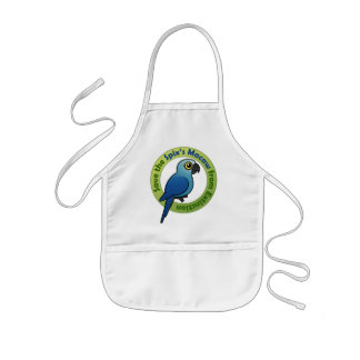 Save the Spix's Macaw from Extinction Kids' Apron
