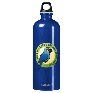 Save the Spix's Macaw from Extinction Water Bottle