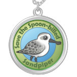 Save the Spoon-billed Sandpiper Custom Jewelry