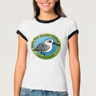 Save the Spoon-billed Sandpiper T-Shirt